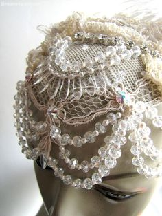 Art Deco Wedding Headband