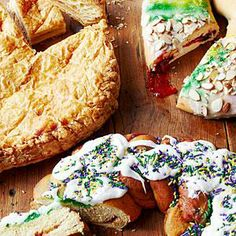 Mail-Order Mardi Gras King Cakes | You can purchase any flavor and style of king cake online year-round, so we narrowed the field for you. Here are our favorites. | SouthernLiving.com