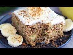 Fruity, moist and delicious, this banana and zucchini cake is loaded crushed pineapple and lightly sweetened with honey.