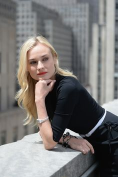 """Unveiling new film """"Reinvent Yourself"""" with Diane Kruger #ReinventYourself #NYC"""