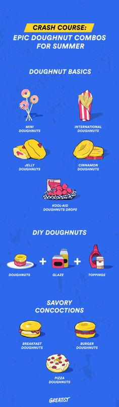 Epic Summer Doughnut Combinations