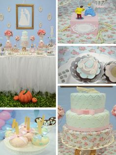 Cinderella Themed Birthday Party via Karas Party Ideas | KarasPartyIdeas.com #cinderella #princess #disney #girl #birthday #party #ideas