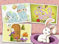 Free app for kids! Robert Rabbit and a Rainbow - No Ads: http://www.appysmarts.com/application/robert-rabbit-and-a-rainbow-no-ads,id_90187.php