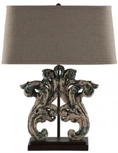 Aidan Gray Home Bleu Fougere Table Lamp Set of 2 Free Shipping | The Purple Rose