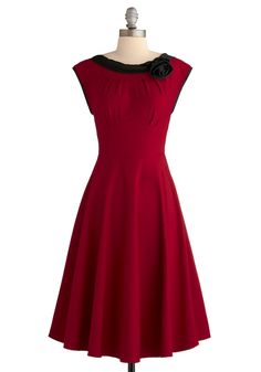 Red-y for My Closeup Dress $154.99