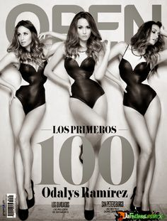 Odalys Ramirez Revista Open Septiembre 2014 [PDF Digital] | FamosasMex
