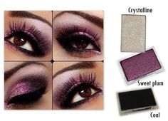 Gorgeous purple smokey eye with Mary Kay colors!