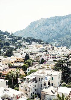 View of Capri, Italy