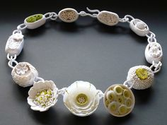Necklace | Angela Garrod. Polymer Clay