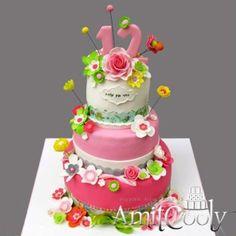 עוגת בת מצווה אביבית