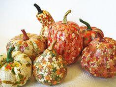 Fall Pumpkins Decoupage Mini