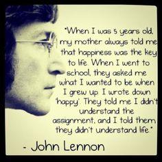 John Lennon on Life