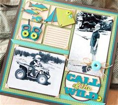 Record your man's memories in style!