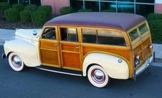1941 Plymouth Woody