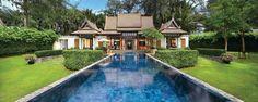 Banyan Tree Phuket Double Pool Villa, Phuket, Thailand.