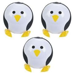 penguin party ideas: penguin beach balls