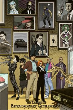 The League of Extraordinary Gentlemen: 1996 would include Dana Scully and Zack Morris