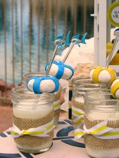 Nautical Themed Baby Shower details