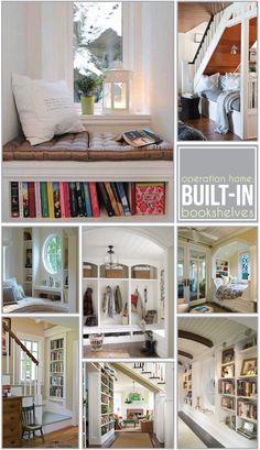 built-in bookshelves = love.