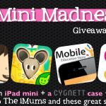 The iMums' Lucky Thirteen! Win an iPad Mini + Case + Apps – Mini Madness 13