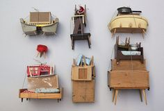 Collection of Miniature Piles