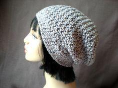 PATTERN Downton Hat easy crochet PDF slouch beanie by swellamy