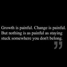 Stuck somewhere you don't belong...