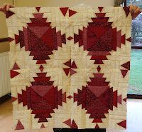 Pineapple nine patch - click through to blog, then link to video how-to