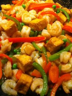 T's Shrimp Tofu Curry