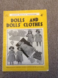 Weldon's Practical Needlework - No 102 - Dolls and Dolls' Clothes