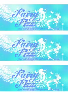 Free Peter Pan Printables - Fairy Fizz Soda Bottle labels (also great for a fairy party)