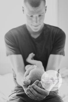 At home newborn session #lifestyle #newborn #photography #athome #posing #madisonrosephotography