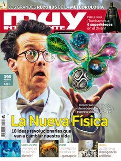 """Portada del número 393 de Muy Interesante, correspondiente al mes de febrero de 2014 con el tema de portada """"La Nueva Física"""""""