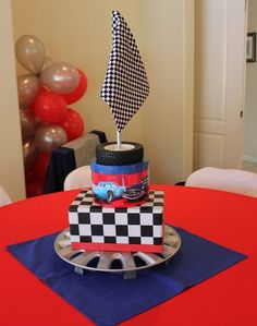 "Photo 11 of 20: Disney/Pixar Cars / Birthday ""Kristian turned 3!""   Catch My Party"