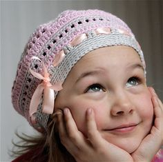 PDF pattern for Crocheted beret style hat by PatternsbyMarianneS, $3.95