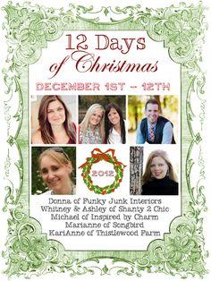 12 Days of amazing Christmas inspiration