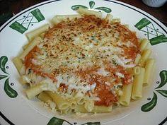 Olive Garden's 5 Cheese Ziti - my FAV!