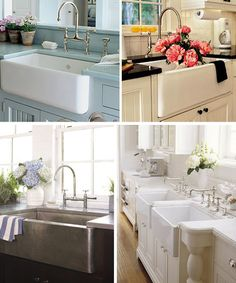 Modern Country Designs: Farmhouse Kitchen Sink