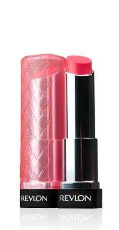 I was surprised but I really like these!  Revlon Colorburst Lip Butter in Sweet Tart.