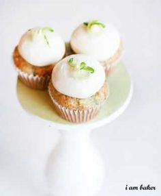Zucchini Cupcakes, gluten free if you use Bob's Redmill GF all purpose flour instead of regular flour.