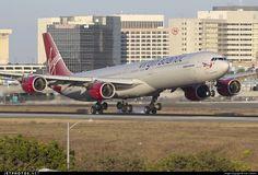 Airbus A340-642 G-VWEB 787 Los Angeles Int'l Airport - KLAX