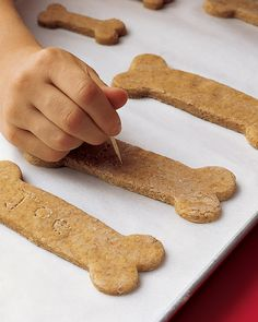 Martha Stewart's home made dog buscuits