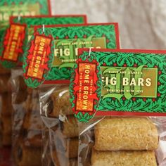 HOMEMADE FIG BARS {EDIBLE GIFT}