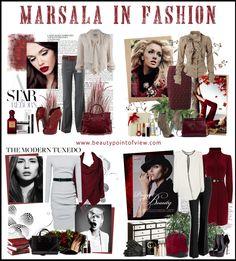 Marsala in Fashion -
