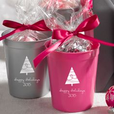 Personalized custom cups from Jean M are perfect holiday party favors - http://blog.myjeanm.com/2013/04/unique-party-favor-ideas-from-jean-m-5598.html