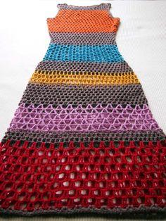 VMSom Ⓐ cesta: vestido de rayas