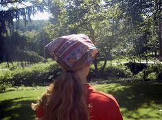 Chemo Bandana Hats hair triangl, triangl bandana, bandana hat