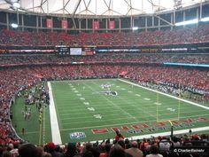 The Georgia Dome, Atlanta GA.
