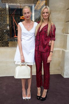 Claire and Virginie Courtin-Clarins