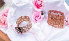 @tmemme28 creates Lace Princess Crowns! #crowns #princess #lace #glitter #DIY #homeandfamily #Homeandfamilytv